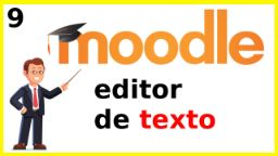 editor de texto moodle